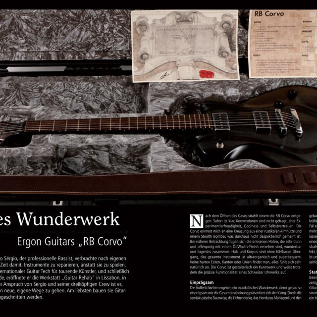Ergon RB Corvo Grand Guitars
